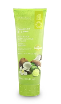 Bilde av Grace Cole Coconut & Lime 238Ml Eco Body Scrub