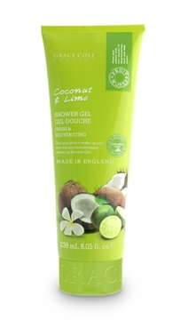 Bilde av Grace Cole Coconut & Lime 238Ml Shower Gel