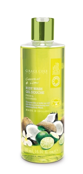 Bilde av Grace Cole Coconut & Lime 500Ml Body Wash