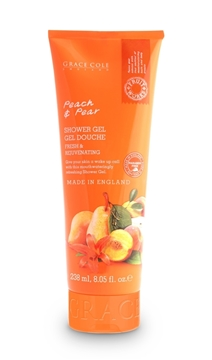 Bilde av Grace Cole Peach & Pear 238Ml Shower Gel