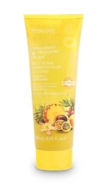 Bilde av Grace Cole Pineapple & Passion Fruit 238Ml Eco Body Scrub