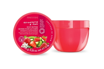Bilde av Grace Cole Strawberry & Kiwi 235G Body Butter