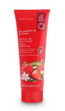 Bilde av Grace Cole Strawberry & Kiwi 238Ml Shower Gel