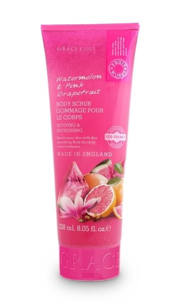 Bilde av Grace Cole Watermelon & Pink Grapefruit 238Ml Eco Body Scrub