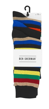 Picture of Ben Sherman Mens Sock 3 Pk.