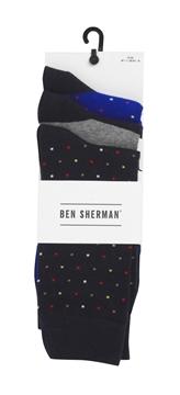 Bilde av Ben Sherman Mens Socks 3 Pk.