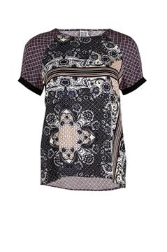 Bilde av Saint Tropez Printed T-Shirt Blouse