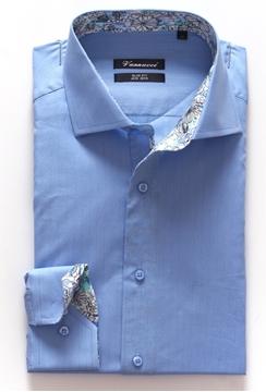 Bilde av Vannucci Shirt 719 Slim Fit