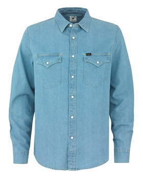 Bilde av Lee Western Shirt Delft Blue