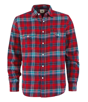 Bilde av Lee Western Shirt Lava Red