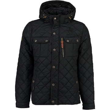 Picture of Geographical Norway Bowling Hood Boy Jacket
