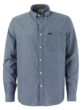 Bilde av Lee Button Down Navy