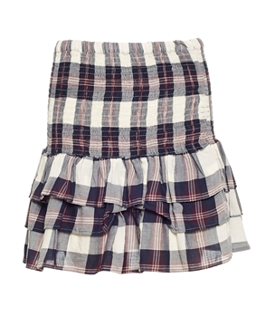 Bilde av Line Of Oslo Farm Check Skirt