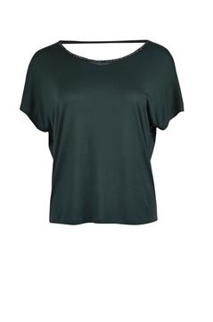 Bilde av Saint Tropez T-Shirt With Cowl Neck