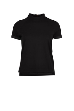 Bilde av Saint Tropez Two Faced Mesh T-Shirt