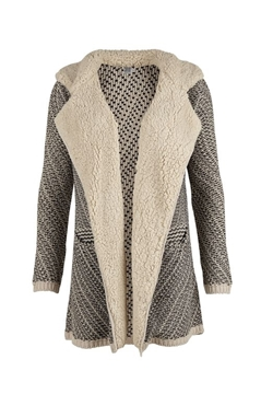 Bilde av Saint Tropez Cardigan W Collar Tower
