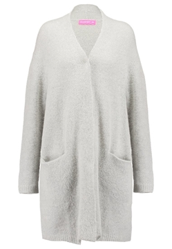 Bilde av Line Of Oslo Safe Mohair Grey Cardigan