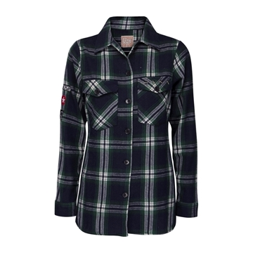 Bilde av Line Of Oslo Used Check Shirt