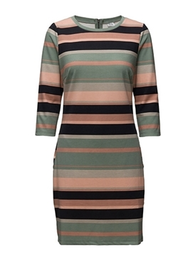 Bilde av Saint Tropez Striped Jersey Dress