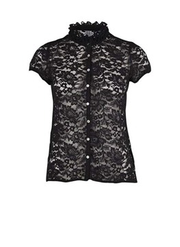 Bilde av Saint Tropez Lace Shirt With Ruffle