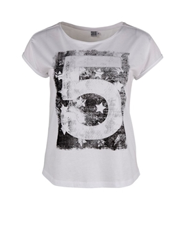 Bilde av Saint Tropez T-Shirt With Star And Letter