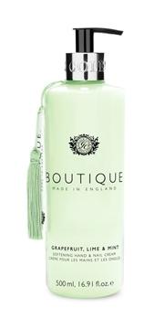 Bilde av Boutique Hand & Nail Cream Grapefruit Lime & Mint 500ml