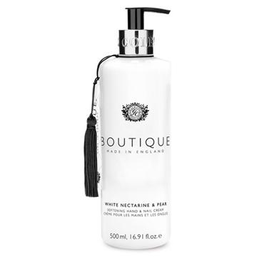Bilde av Boutique Hand & Nail Cream White Nectarine & Pear 500ml