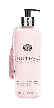 Bilde av Boutique Hand & Nail Cream Wild Fig & Pink Cedar 500ml