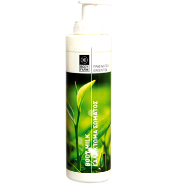 Bilde av Bodyfarm Body Milk Green Tea 250Ml