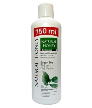 Bilde av Natural Honey Shower Gel White Tea 750ml