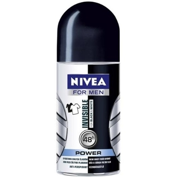 Bilde av Nivea Rollon Black & White Power Men 50ml