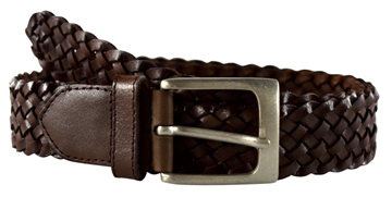 Bilde av Mens Belt Braided 35Mm
