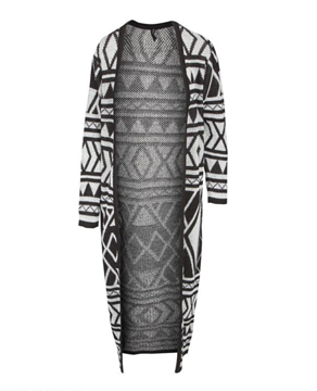 Bilde av Rut & Circle Aztek Long Cardigan