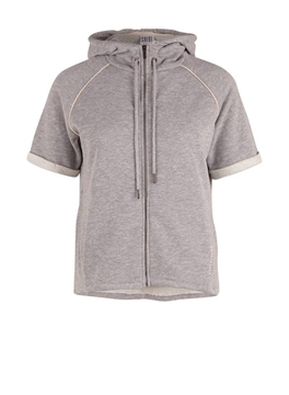 Bilde av Saint Tropez Sweat Jacket W Piping Detail