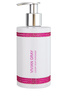 Bilde av Vivian Grey Crystals In Pink Soap 250 ml